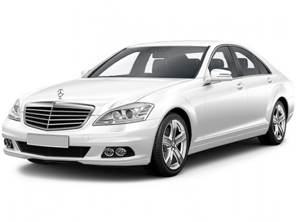 Mercedes-Benz S221 White